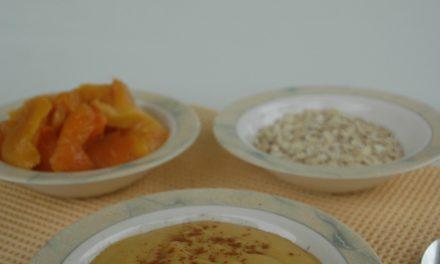 Maak zelf lactosevrije mangovla