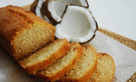 Glutenvrije kokoscake met citroen en honing