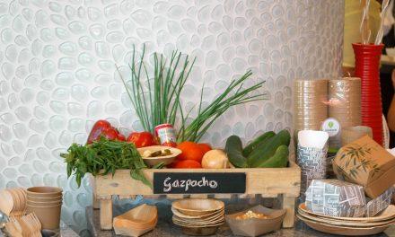 Gazpacho soep @Renaissance Hotel